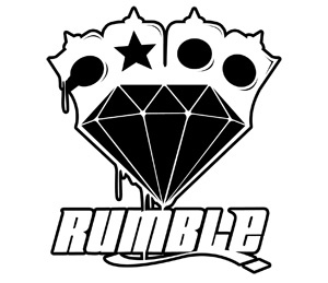 logo rumble diamant