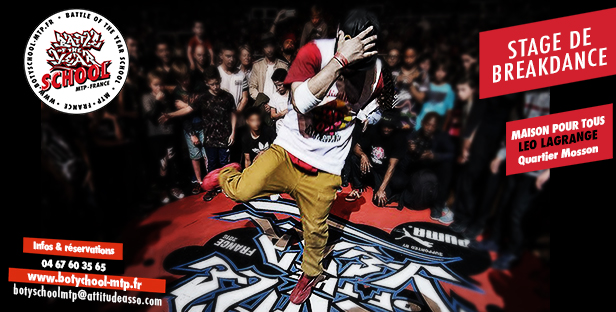 stage breakdance montpellier vacances